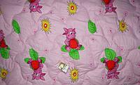 Одеяло силиконовое детское 110*140 см ткань поликотон. (арт.2900)
