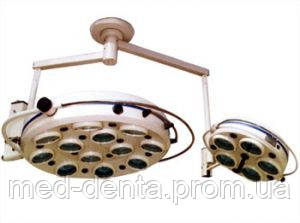 Операционный светильник галогенновый ZMD-II-семнадцатирефлекторный потолочный (два блока, 12+5)  ZOOBLE