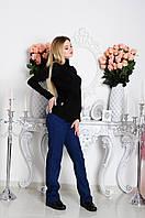 Льняные брюки для будущих мам