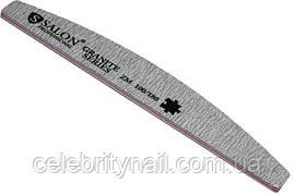 Пилка для ногтей Salon Professional 100/180, полукруг