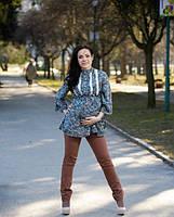 Женская туника  для беременных Оливия   размеры 52