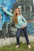 Женская туника  для беременных Графити   размеры 52