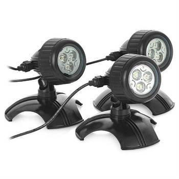 Точечные фонарики для пруда