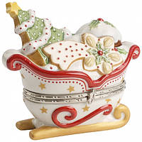 Villeroy & Boch, Winter Bakery Decoration Treat sleigh white 9cm   декорація