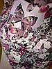Платок шёлковый с бабочками , фото 3