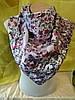 Платок шёлковый с бабочками , фото 2