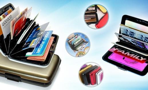 Визитница, кошелек чемодан Aluma Wallet