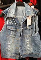 Жилетка джинсовая АS 831