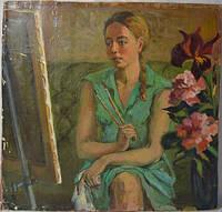 Довгалевская В. 1994 ,,Художница,,