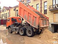 Песок строительный (горный) 9 м/куб (автомобиль Камаз)