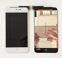 Оригинальный дисплей (модуль) + тачскрин (сенсор) для Meizu MX2 (белый цвет)