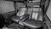 Установка диванов BMW E65/66 в Mercedes-Benz G-class.