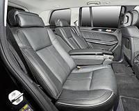 Установка диванов BMW E65/66 в Mercedes-Benz GL-class.