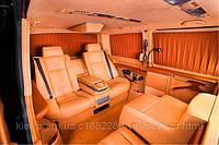 Установка диванов BMW E65/66 в Volkswagen Multivan