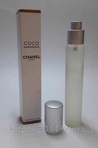 Мини парфюм в ручке Chanel Coco Mademoiselle 40 ml (реплика), фото 2