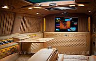 Установка шторок в Mercedes-Benz Sprinter.