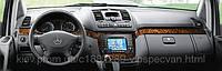 Установка аудио-видео аппаратуры в Mercedes-Benz Viano