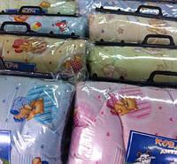 Одеяло детское шерстяное, 110*140 см, ткань бязь.(арт.2899)