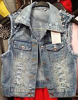 Жилетка джинсовая АS 832