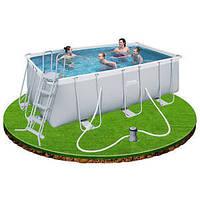 Каркасный бассейн BestWay 56456 (412х201х122 см.)