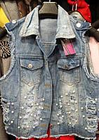 Жилетка джинсовая АS 834