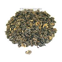 Чай китайский красный Черная улитка весовой 100г