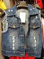 Жилетка джинсовая АS 835