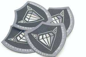 Нашивки с логотипом