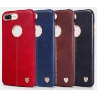 Чехол для сматф. NILLKIN iPhone 7 (4`7) - Englon Series (Синий)