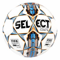 Мяч футбольный SELECT BRILLANT SUPER FIFA TB бело/синий, р.5