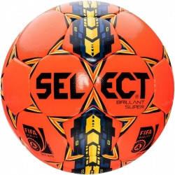 Мяч футбольный SELECT Brillant Super FIFA   оранжевый, фото 2