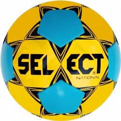 Мяч футбольный Select National (желто/синий) 5 размер, фото 2