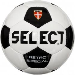 Мяч футбольный Select Retro Special (бело/черный) 3 размер