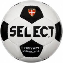 Мяч футбольный Select Retro Special (бело/черный) 3 размер, фото 2