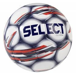 Мяч футбольный SELECT CLASSIC NEW (208) бел/черн/красн р.4, фото 2
