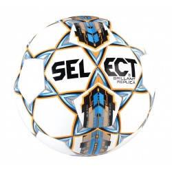 Мяч футбольный SELECT BRILLANT REPLICA NEW (315) бел/син р.5, фото 2
