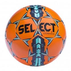 Мяч футбольный SELECT COSMOS Extra Everflex, (312)  оранж/син/голуб р.4