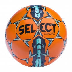 Мяч футбольный SELECT COSMOS Extra Everflex, (312)  оранж/син/голуб р.4, фото 2