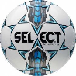 Мяч футбольный SELECT NUMERO 10 (305) ,бел/сер/голуб р.4, фото 2