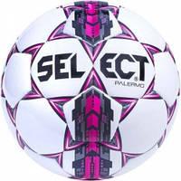 Мяч футбольный SELECT PALERMO (310) бел/сер/роз р.4