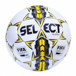 Мяч футбольный SELECT SUPER FIFA  (001) ,бел/сер/желт р.5, фото 2