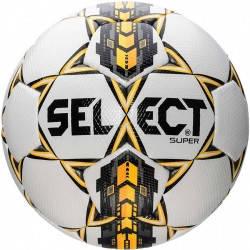 Мяч футбольный SELECT SUPER   (001) ,бел/сер/желт р.4, фото 2