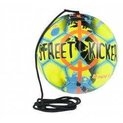 Мяч футбольный SELECT STREET KICKER (327) желт/голуб р.4, фото 2