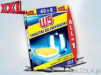 Таблетки для посудомоечных машин W5 Tabletki do Zmywarki 10 шт