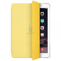 Полиуретановая обложка Apple Smart Cover Yellow для iPad (2017) и iPad Air / Air 2 - желтая (MGXN2)
