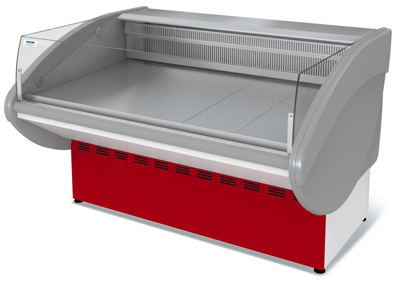 Витрина холодильная универсальная открытая ВХСно-1,2 ИЛЕТЬ