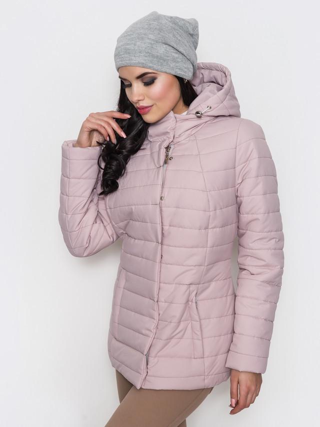 Фото-1 Женской демисезонной куртки больших размеров Айсель-1