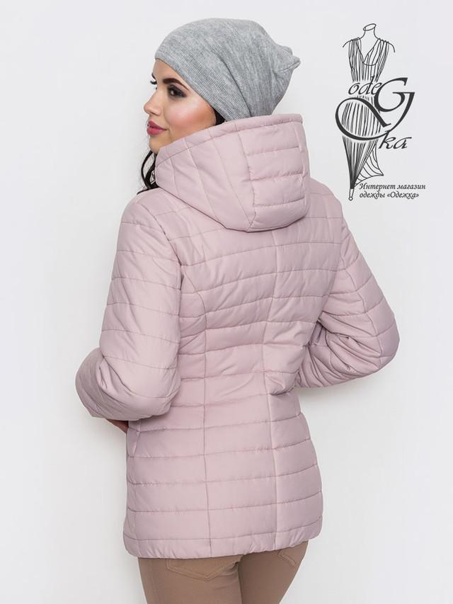 Фото-2 Женской демисезонной куртки больших размеров Айсель-1