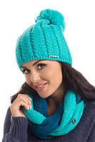 Теплый женский модный шарф-снуд от Pawonex - Roxi