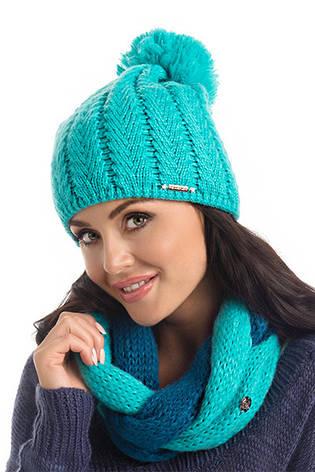 Теплый женский модный шарф-снуд от Pawonex - Roxi  продажа, цена в ... 640ce6ec293